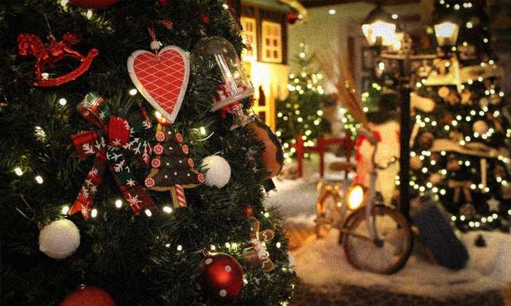 Sapin de Noël aux Airelles