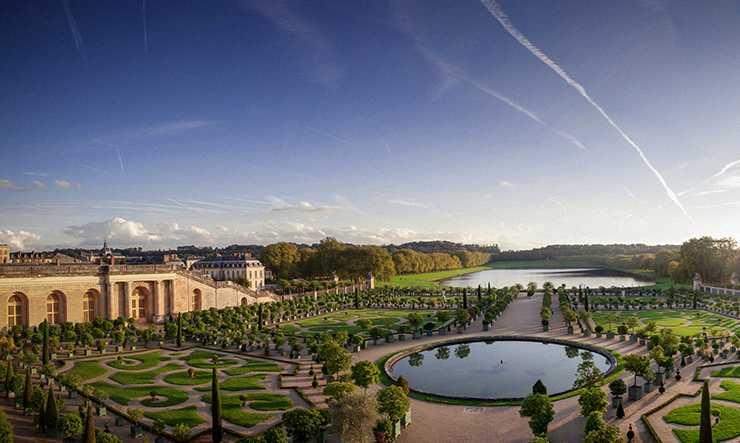 The Château de Versailles gardens